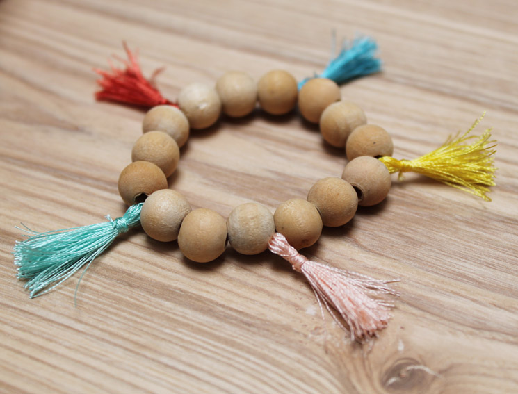 bracelet multi bois