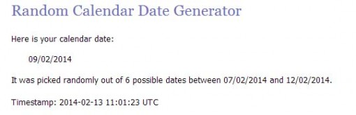 date 2
