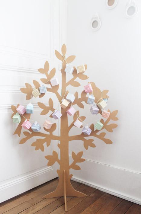 guirlande arbre